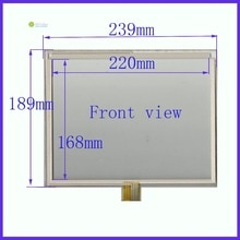 ZhiYuSun 11 pulgadas 8 lins pantalla táctil 239mm * 189mm sensor táctil 239*189 cristal digitalizador bueno calidad assur