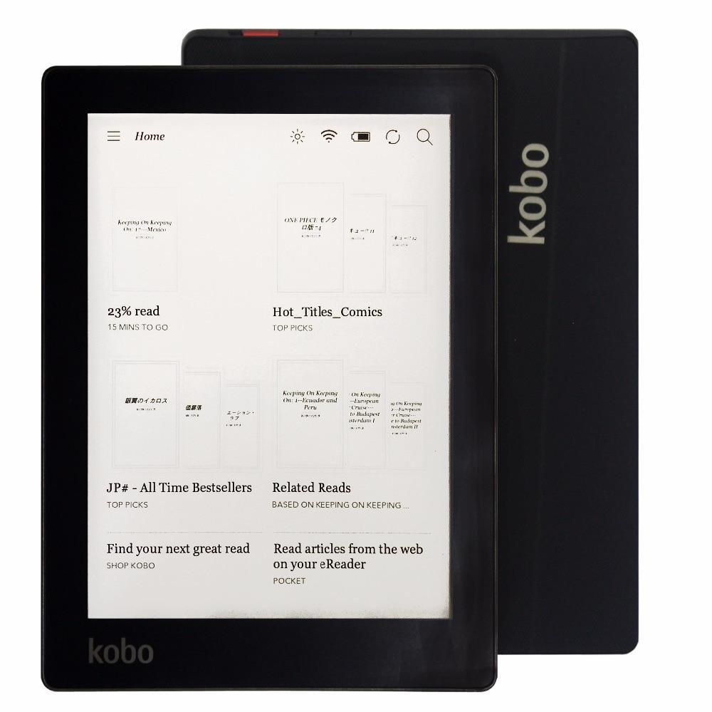 كوبو أورا-قارئ الكتب الإلكترونية ، شاشة حبر إلكتروني بحجم 6 بوصات بدقة 1024 × 758 ، N514 ، مع إضاءة أمامية مدمجة ، وذاكرة WiFi سعة 4 جيجابايت