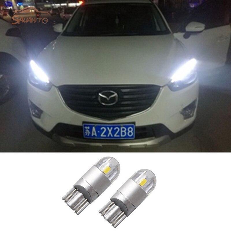 2X T10 W5W Автомобильные светодиодные лампы для парковки для Mazda 2 3 5 6 CX-3 CX-5 MX5 Atenza cx3 rx8 cx5 Tribute Protege5 Miata Millenia CX-7