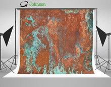 Plaque cuivre vieilli Texture patine verte taches vieux usé métal fond polyester ou vinyle tissu impression ordinateur toile de fond murale