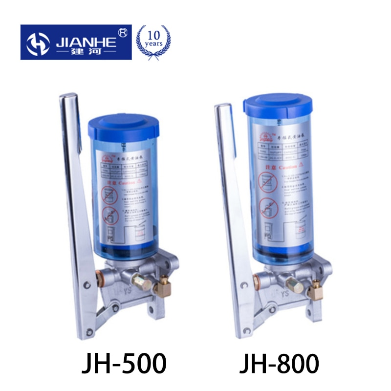 JH-500CC/800CC HYG hand grease pump  Manual Oil Pump for CNC Machine Oil Lubrication pump system