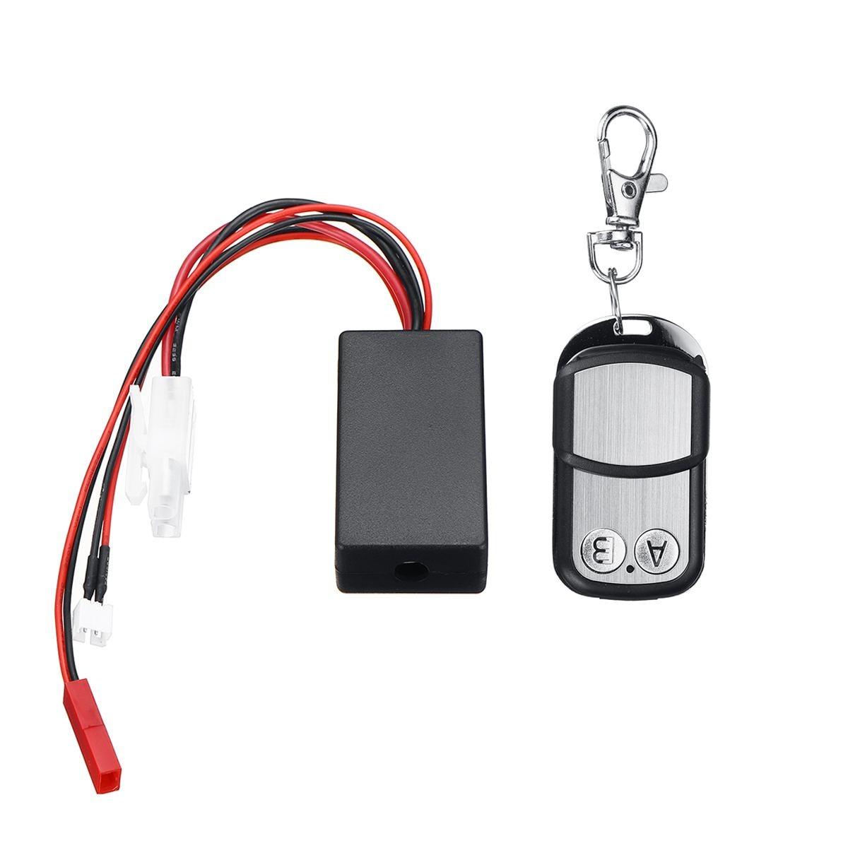 Металлическая радиоуправляемая автомобильная лебедка с дистанционным управлением, приемник для 1/10 радиоуправляемого гусеничного автомобиля RC4WD D90, осевой SCX10, TRX-4