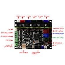 MKS GEN-L V1.0 płyta główna + ekran dotykowy MK TFT28/TFT32 Fulltouch + kabel USB części drukarki 3D SGA998