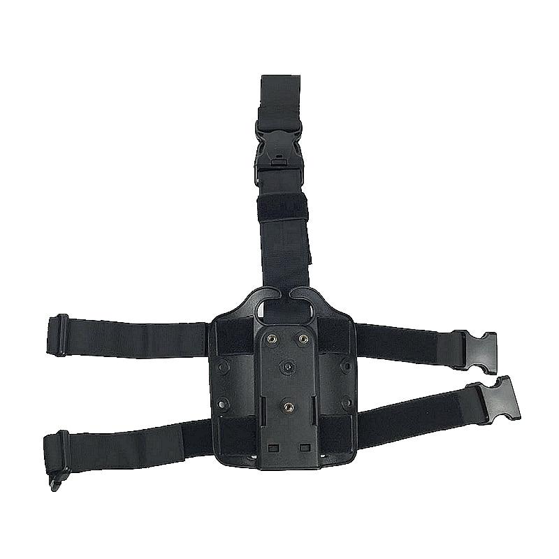 Tactical Drop Leg Holster Platform Hard Plastic Polymer Boomstick Holsters for Gl17 M9 M92 p229 CZ83 M2000 Hunting Gun Airsoft