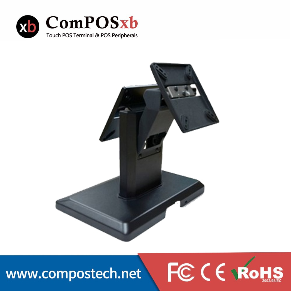 Monitor Stand Halten Dual Bildschirme Montieren Günstige Desktop-Pos Lcd Display Stand