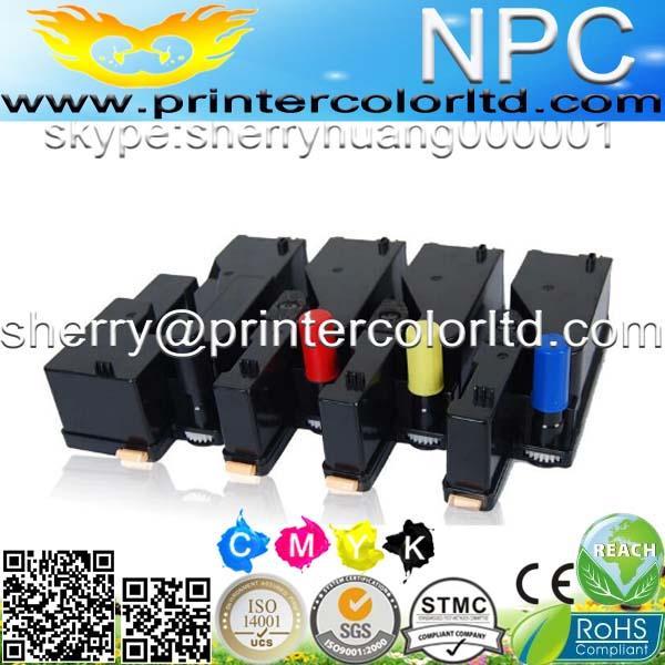 Prenora para cartucho de toner xerox 106r01634, para xerox 106r01633 106r01632 106r01631 toner recarga, para xerox phaser 6000 6010