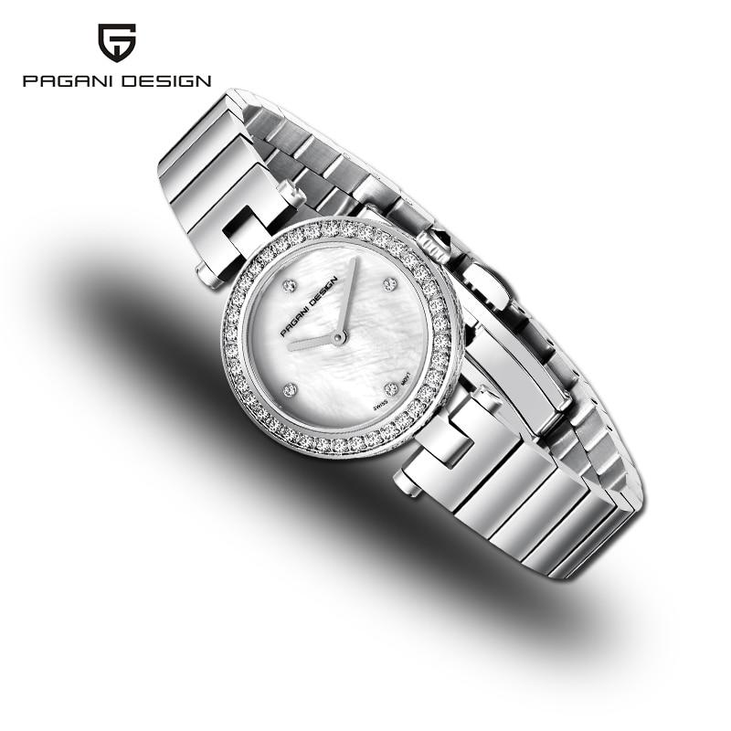Camiseta nueva y lujosa marca de relojes para mujer, diseño 2019 PAGANI, esfera ultrafina, reloj para mujer, reloj deportivo de cuarzo, reloj femenino