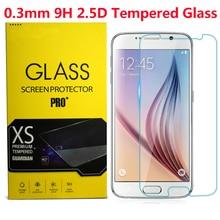 Verre trempé Pour Galaxy S3 S4 S5 Mini S7 S6 Samsung Note 3 4 5 J1 J5 J7 A3 A5 A7 G350 G355H G360 G850F coque de téléphone) *