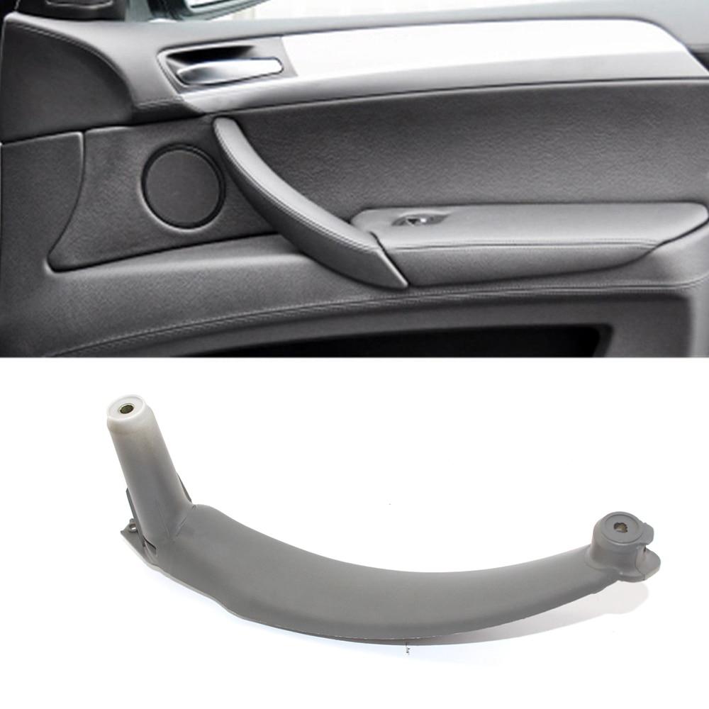 3 Colors Right Inner Door Panel Handle Pull Trim Cover For BMW E70 X5 51416969404 Interior Door Handles