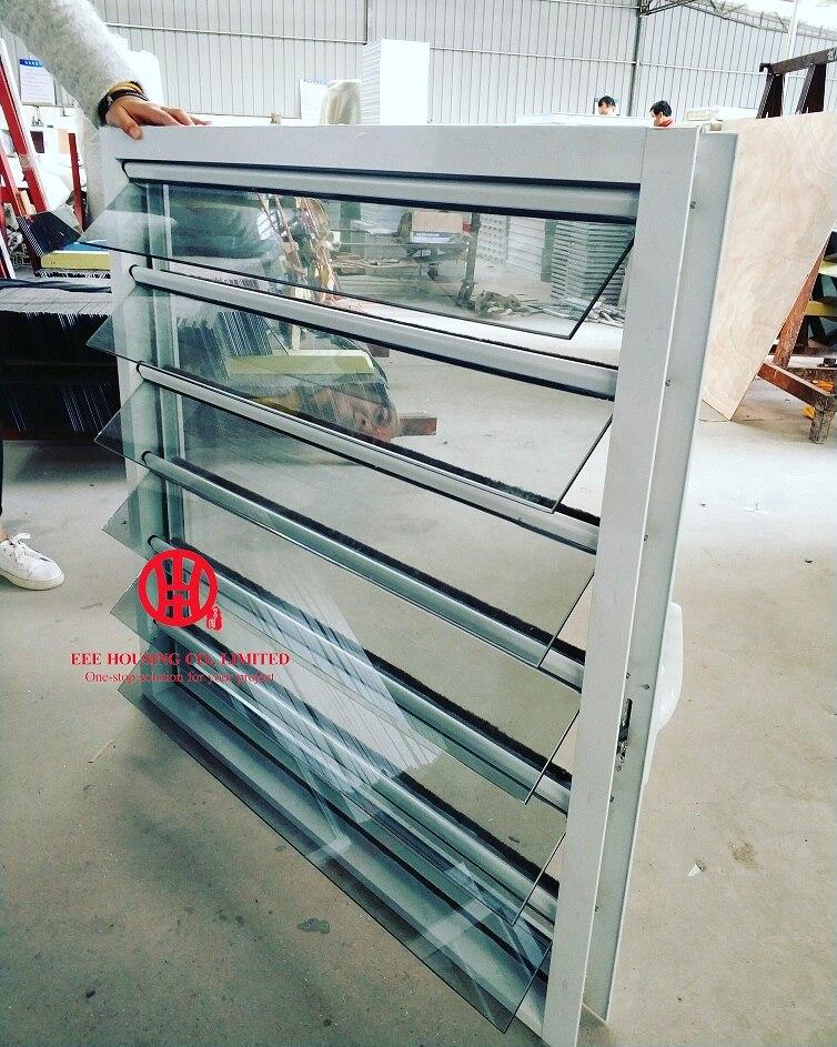 Жалюзи на продажу стеклянные жалюзи с защитой от ураганов алюминиевые
