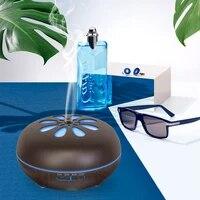 Humidificateur dair ultrasonique  diffuseur dhuile essentielle et darome electrique a 7 couleurs de lumiere  appareil daromatherapie  brumisateur domestique  500ML