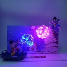 Goku de Dragon Ball Z Kamehameha del Vegeta cañón galick figuras de acción juguete de la bola del dragón del Anime Super Goku Vegeta figura de juguete