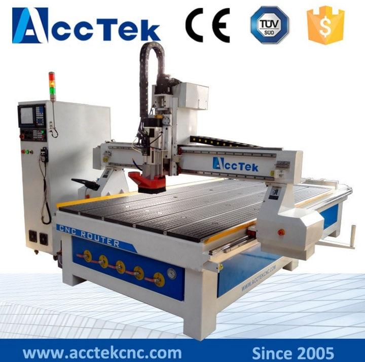 Máquina de grabado cnc de cambio de herramienta automática, enrutador cnc de artesanía de madera de 1530/4 pies x 8 pies, fresadora cnc ATC, eje de refrigeración de aire