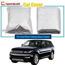 Cawanerl Full Car Cover Anti UV Zon Sneeuw Regen Slip Protector Cover Stofdicht Voor Land Rover Range Rover Sport