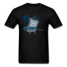 Hola! Men T Shirt Masked Number Game T-shirt Gamer Geek Tops Cartoon Hip Hop Tees Black Tshirt Cotton Clothes Funny