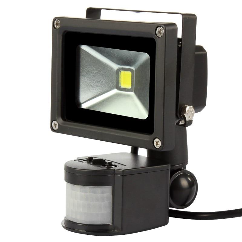 4 Uds 10W 20W 30W 50W 110V 220V sensor de movimiento por infrarrojos PIR LED reflector LED lámpara LED para iluminación al aire libre