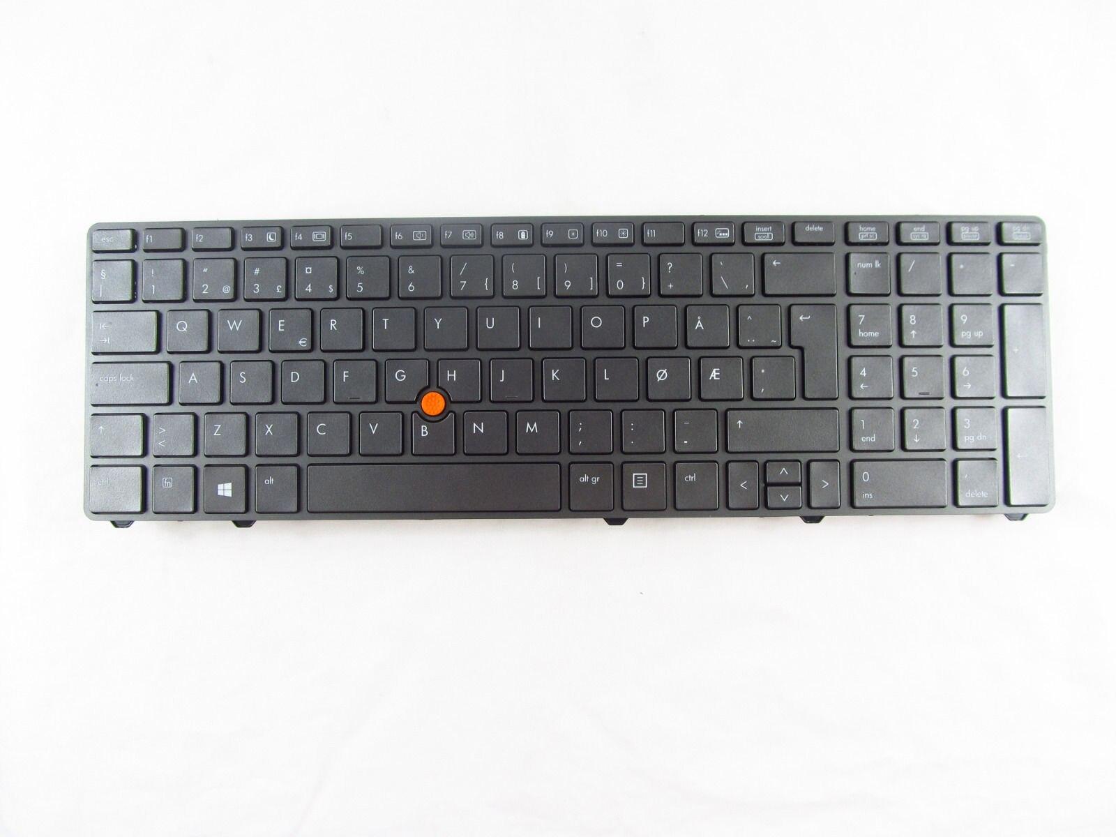 Nuevo para HP EliteBook 8760w 8770w Teclado retroiluminado NOR 701978-001 701455-001 WIN8
