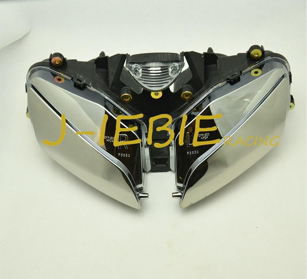 Chrom-frontscheinwerfer Head Light Lamp Assembly Für HONDA CBR600RR CBR600 CBR 600 RR F5 2003 2004 2005 2006