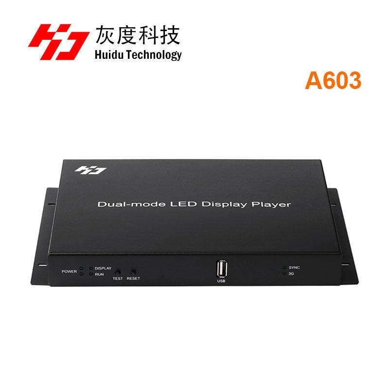 Trabalho com R500 Cheia Vídeo Duplo-modo Led Display Player Caixa Suporte 1920*1080 Pixels R501 Hd-a603 Rgb Cor hd