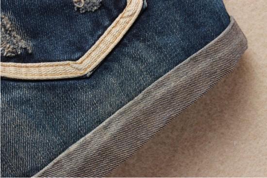 Vintage Club Denim Ripped Shorts 14
