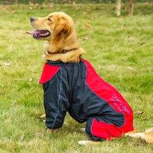 Imperméable pour chien de compagnie   Vêtements dextérieur imperméables pour chiens moyens et grands, bouledogue français, veste de pluie pour grands chiens