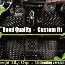 Tapis de sol de voiture personnalisés   Pour Mitsubishi tous modèles ASX Lancer SPORT EX Zinger FORTIS Outlander Grandis tapis de sol de style