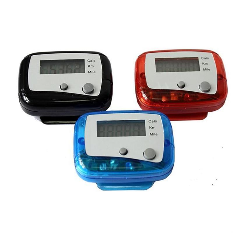 Sport course Jogging Distance de marche LCD étape compteur podomètre livraison directe