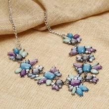 Colliers et pendentifs à la mode cristal Maxi Collier pour femmes Femme chaîne Collier Collier Femme mode Boho bijoux