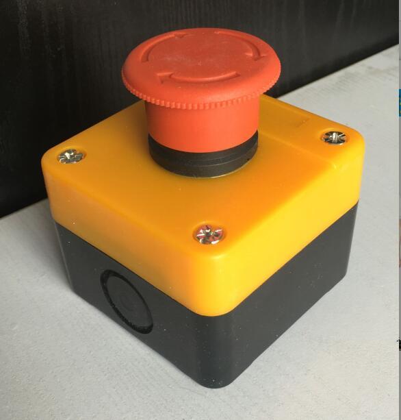 botao de parada de emergencia caixa de caixa de caixa de interruptor de parada do