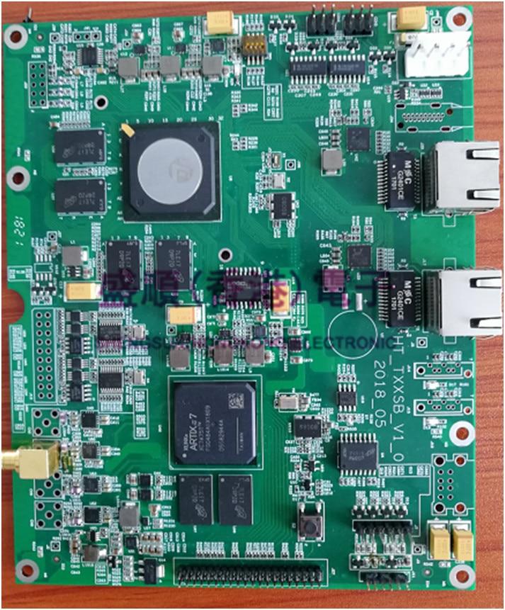 H264 265 SDI video decoding communication board Hi3536+XC7A75T video compression LVDS driver