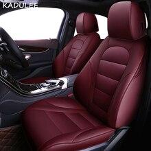Jeu de housses de sièges de voiture   Pour Volkswagen 4 5 6 7 vw passat b5 b6 b7 polo golf mk4 tiguan jetta touareg, accessoires de style de voiture
