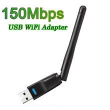 Neue 150 Mbps 2,4G USB WiFi Adapter Mini Wireless WiFi Dongle Netzwerk Karte USB Ethernet WiFi Empfänger Externe WLAN wi-Fi Adapter