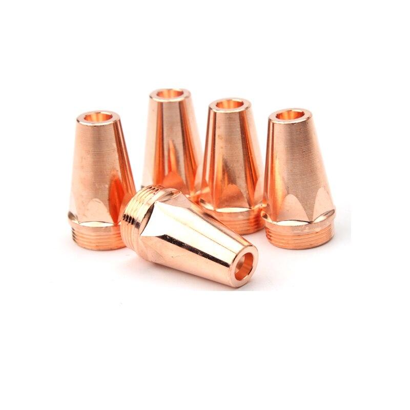 20 قطعة/الوحدة P80 البلازما الغاز تلاعب التخطيط مشقوق التنفيس فوهة بدلا من الكربون قضيب ثنائي الأغراض بندقية تلاعب الأخدود الفوهات