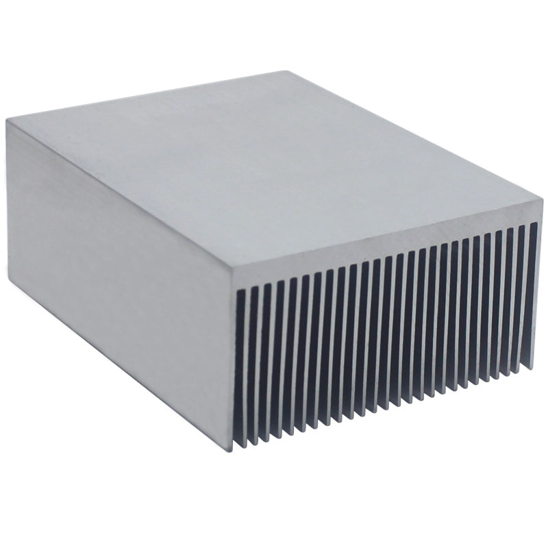 Water Cooling System Electronic Radiator Aluminum Dense Teeth Heatsink Extruded 100x69x36MM Heat Sink Computer