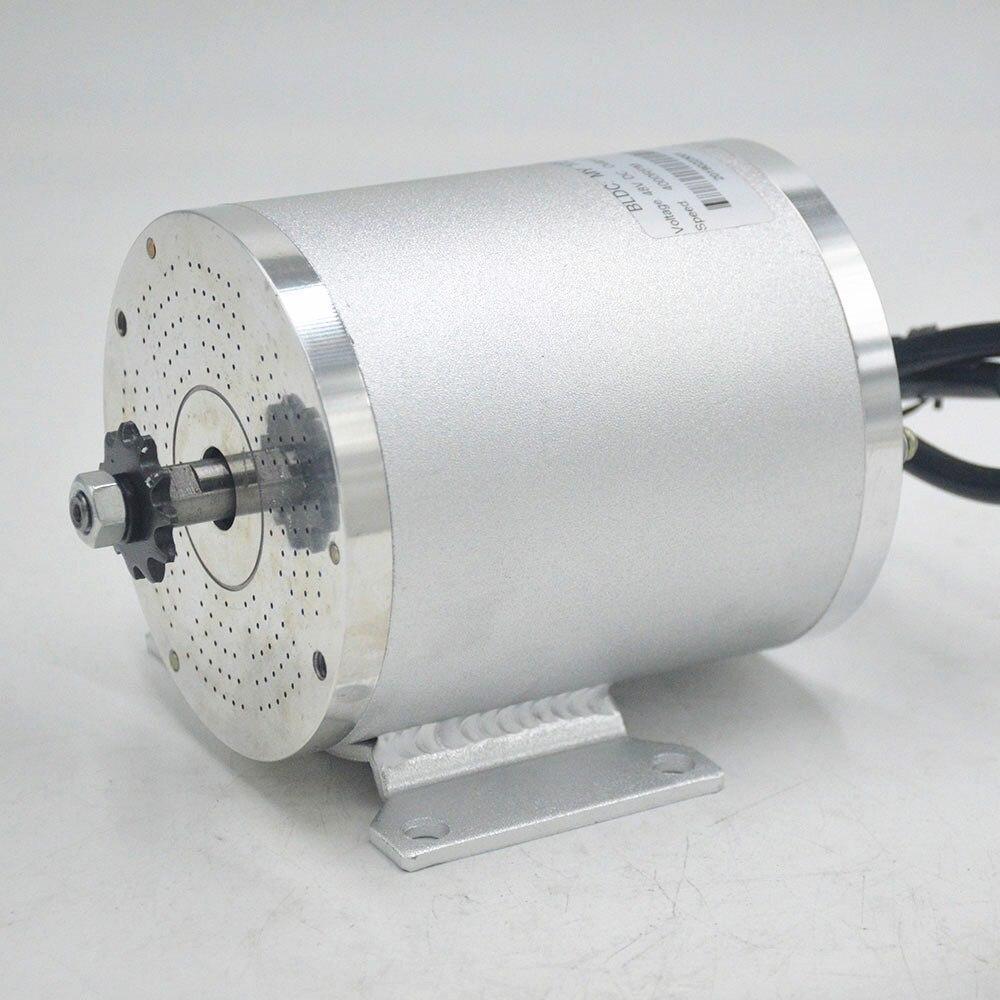 محرك بدون فرش للدراجة الكهربائية MY1020 ، 48V 60V 2000W ، ملحقات الدراجة الكهربائية