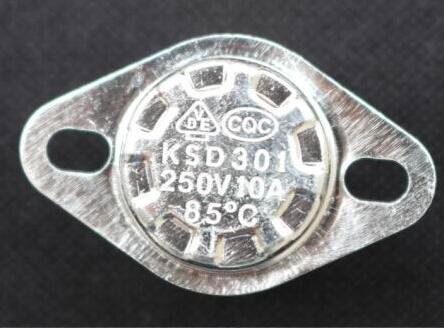 Piezas de dispensador de agua KSD301 termostato Interruptor de control de temperatura 85C grado 250V 10A