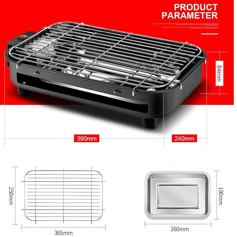 Parrilla Eléctrica para restaurante, Parrilla portátil de 220V, equipo de Parrilla para...