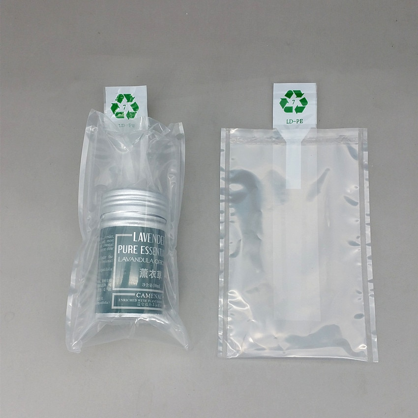 25x40cm Double Layer Plastic Pump Inflatable Cushioning Buffer Pack PE Bag In For Breakable Fragile Product Packaging 1000pcs
