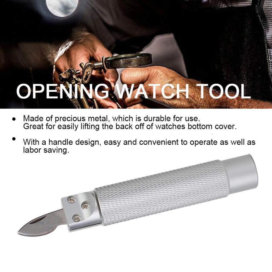 Profissional Abridor de Caixa Do Relógio de Abertura Remover Repair Tool Relojoeiro Substituição Parte Relógio Ferramenta de Reparo para Relojoeiro