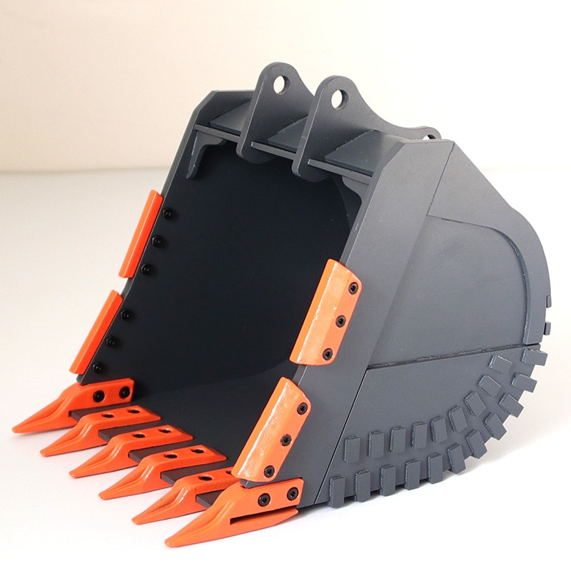 RC Excavator Metal Bucket for 1/12 Scale Remote Control Hydraulic Excavator enlarge