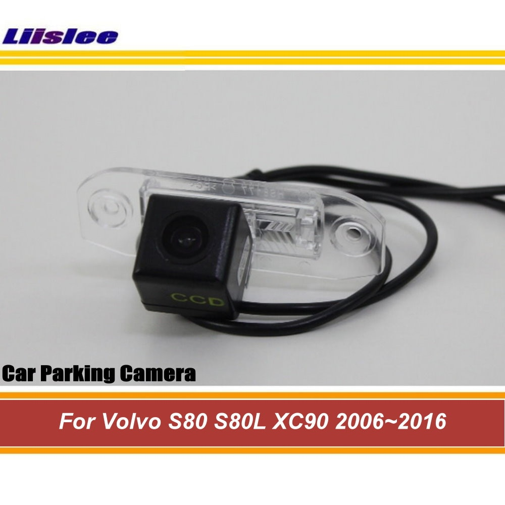 Liislee Reverse Rear View Camera For Volvo S80 S80L XC90 2006~2016 / Back Up Camera / CCD Night Vision / Parking AUTO CAM