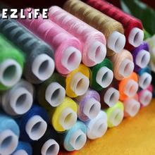 EZLIFE-fils à coudre en Polyester 250   Bobines de 30 mètres, assortiment de 100% mètres, Quilting, tout usage pour le fil à coudre XN949