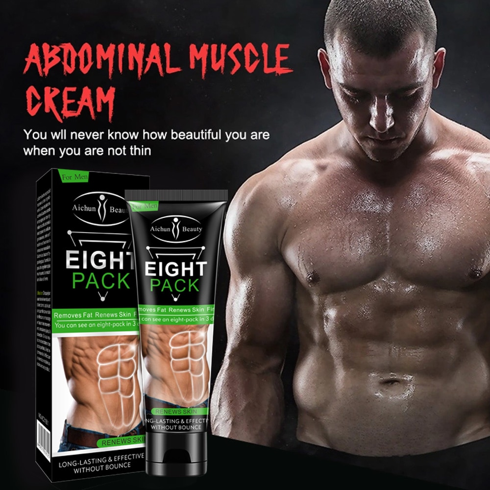 Fitness Powerful Abdominal Muscle Cream Stronger Muscle Strong Anti Cellulite Burn Fat Product Weigh