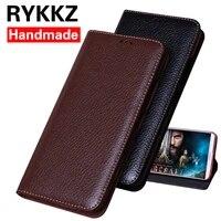 rykkz luxury leather flip cover for meizu 15 5 45 protective mobile phone case leather cover for meizu 15 plus free shipping