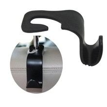 Siège arrière appui-tête créatif crochet organisateur multifonction crochet de suspension siège support repose-tête pour voiture universelle SUV