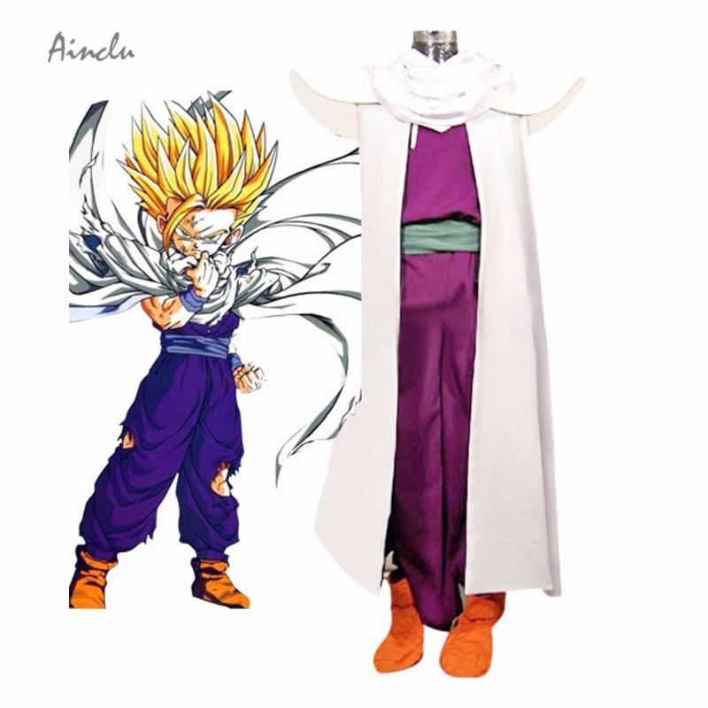 Disfraz de Cosplay, uniforme de combate de Dragon Ball, Piccolo, Lord Super Saiyan