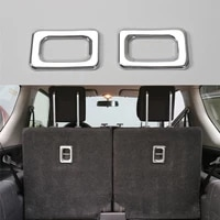 rear trunk seat hook handle frame cover trim interior car styling chrome abs for suzuki jimny 2007 2015 decor car accessories