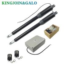 Ouvre-porte linéaire Commercial 200KG cc   Engrenage à vis sans ver, ouvre-cellule, lampe, bouton de poussée, opérateur GSM en option