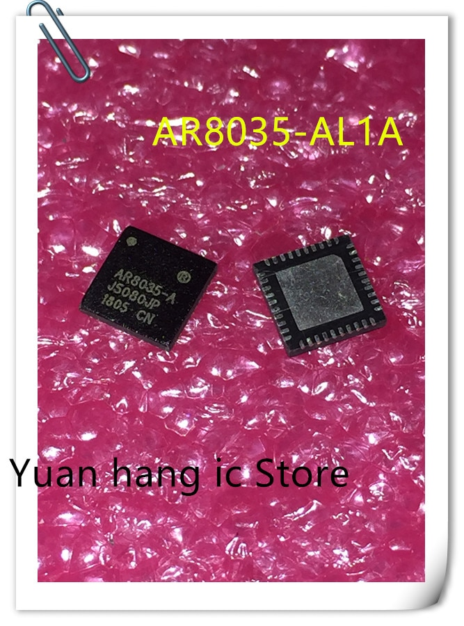 Free Shipping 10PCS/LOT  AR8035-AL1A AR8035-A AR8035 QFN Network card chip new original