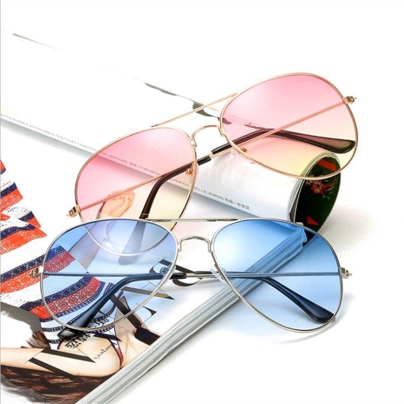 Pilot Aviation Night Vision Sunglasses Men Women Goggles Glasses UV400 Sun Glasses Driver Night Driv